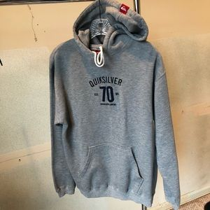 Quicksilver hoodie embroidered size small